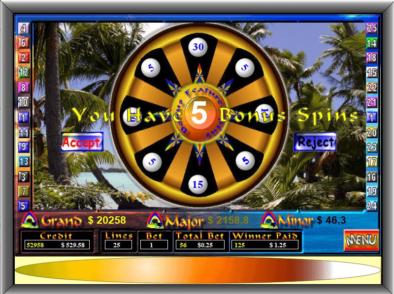 pokies fun Bonus screenshot