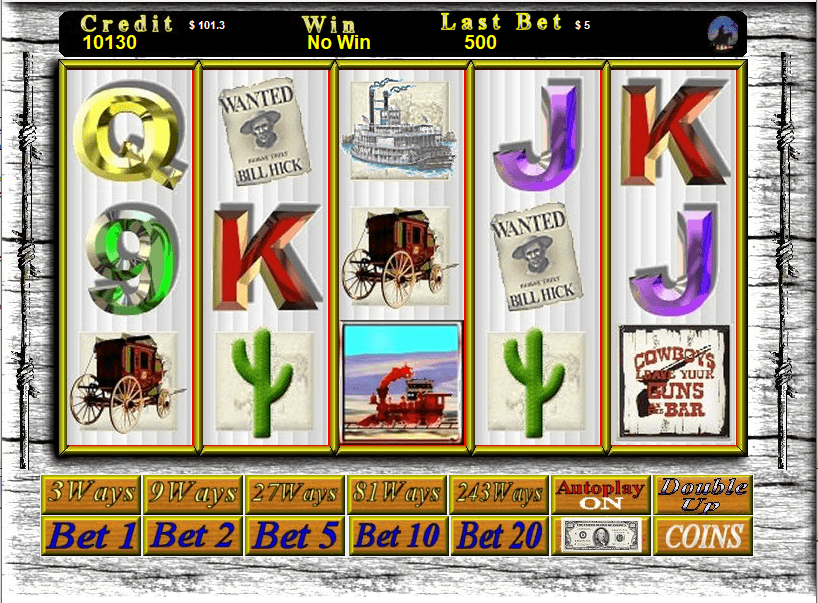 243 way slots gowest