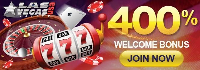 Las Vegas USA Casino | 400% Welcome Bonus