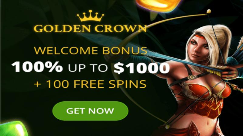 golden crown online slots