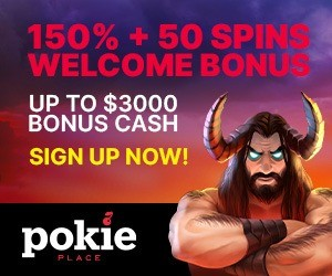Play Money Slots at Pokie PLace Online Casino
